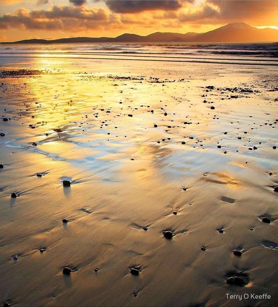 banna beach co kerry ireland.. by Terry O Keeffe