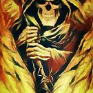 Fiery Winged Reaper by shutterbug2010
