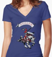 Miller Marauders Heritage Collection Women's Fitted V-Neck T-Shirt