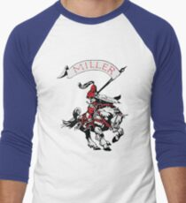 Miller Marauders Heritage Collection Men's Baseball ¾ T-Shirt