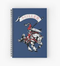 Miller Marauders Heritage Collection Spiral Notebook