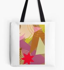 Color Shape Abstract Tote Bag