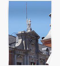 Madrid- Building 3 Poster