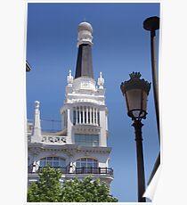 Madrid- Building 4 Poster