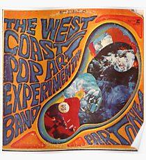 West Coast Pop Art Experimental Band Acid Rock Poster