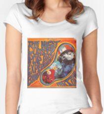 West Coast Pop Art Experimental Band, Acid Rock Women's Fitted Scoop T-Shirt