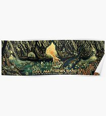 DMB The Cynthia Woods Mitchell Pavilion The Woodlands TX Poster