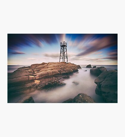 The Shark Tower Photographic Print
