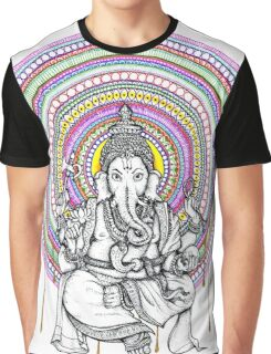 Elephant Shiva Graphic T-Shirt