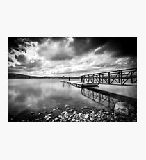 Lough Fea Pier Photographic Print