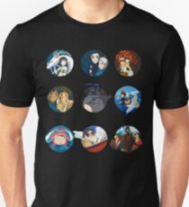 Studio ghibli movies (no filter) T-Shirt