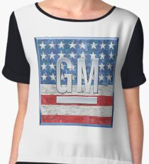 General Motors. Chiffon Top