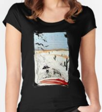 Fear and Loathing in LV Women's Fitted Scoop T-Shirt