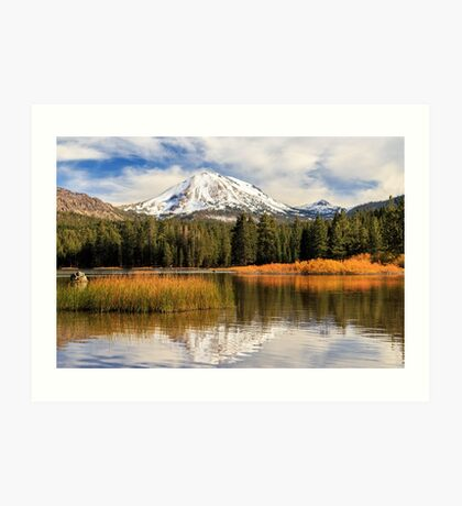Autumn At Mount Lassen Art Print