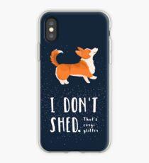 Corgi Glitter (Pembroke Welsh Corgi) iPhone Case