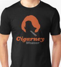 """""""Cigarney Weaver"""" Sigourney Weaver Cigar Shirt T-Shirt"""