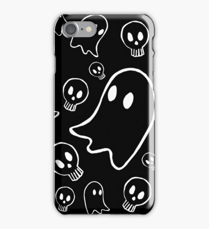 Ghosts and Skulls iPhone Case/Skin