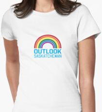 Outlook Rainbow Women's Fitted T-Shirt