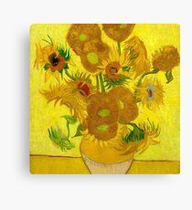 Sunflowers, Vincent van Gogh Canvas Print