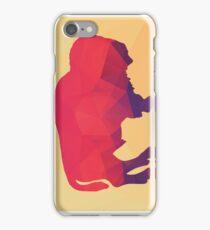 Geometric polygonal buffalo, pattern design iPhone Case/Skin