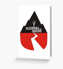 Sleeping With Sirens Logo Greeting Card