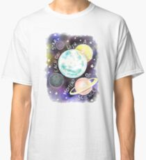 Start Each Day With a Moment of Science Classic T-Shirt