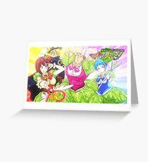 Magical Cabbage from Shokugeki no Soma Greeting Card