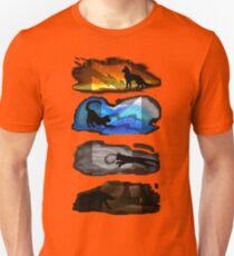 Warrior Cats: Four Elements, Four Clans T-Shirt