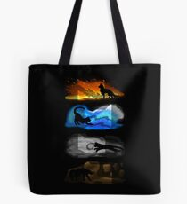 Warrior Cats: Four Elements, Four Clans Tote Bag