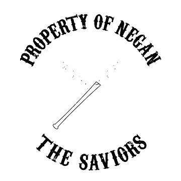 Property of Negan (The Walking Dead) by cpt-2013