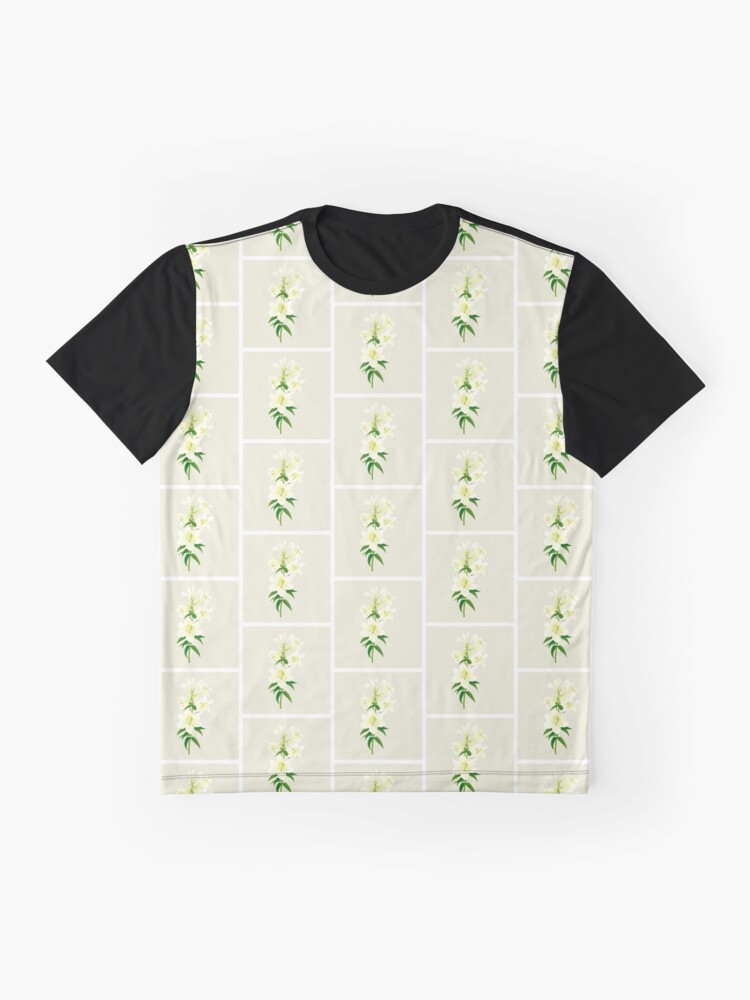 Alternate view of White Lily Graphic T-Shirt
