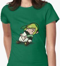 Power, Courage, Wisdom-nom-nom Women's Fitted T-Shirt