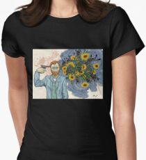 Vinnie Van  Women's Fitted T-Shirt
