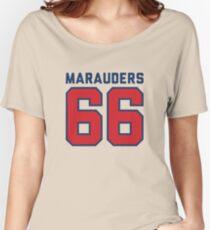 Marauders 66 Grey Jersey Women's Relaxed Fit T-Shirt
