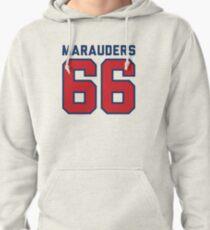 Marauders 66 Grey Jersey Pullover Hoodie