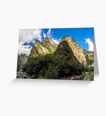 Urubamba Valley Greeting Card