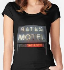Bates Motel Women's Fitted Scoop T-Shirt