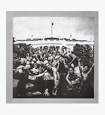 Kendrick Lamar - To Pimp A Butterfly Album Cover Art Photographic Print