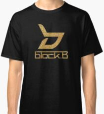 Block b- Logo Glitter Classic T-Shirt