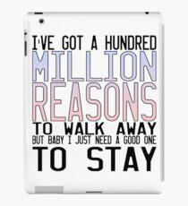 Million Reasons iPad Case/Skin