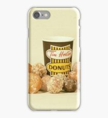 Tim Horton's OG Cup with Timbits iPhone Case/Skin