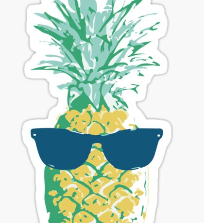 Pineapple Shades Sticker