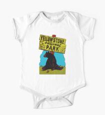 Yellowstone National Park Wyoming Vintage Travel Decal Kids Clothes