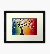 Colors of the Rainbow Framed Print