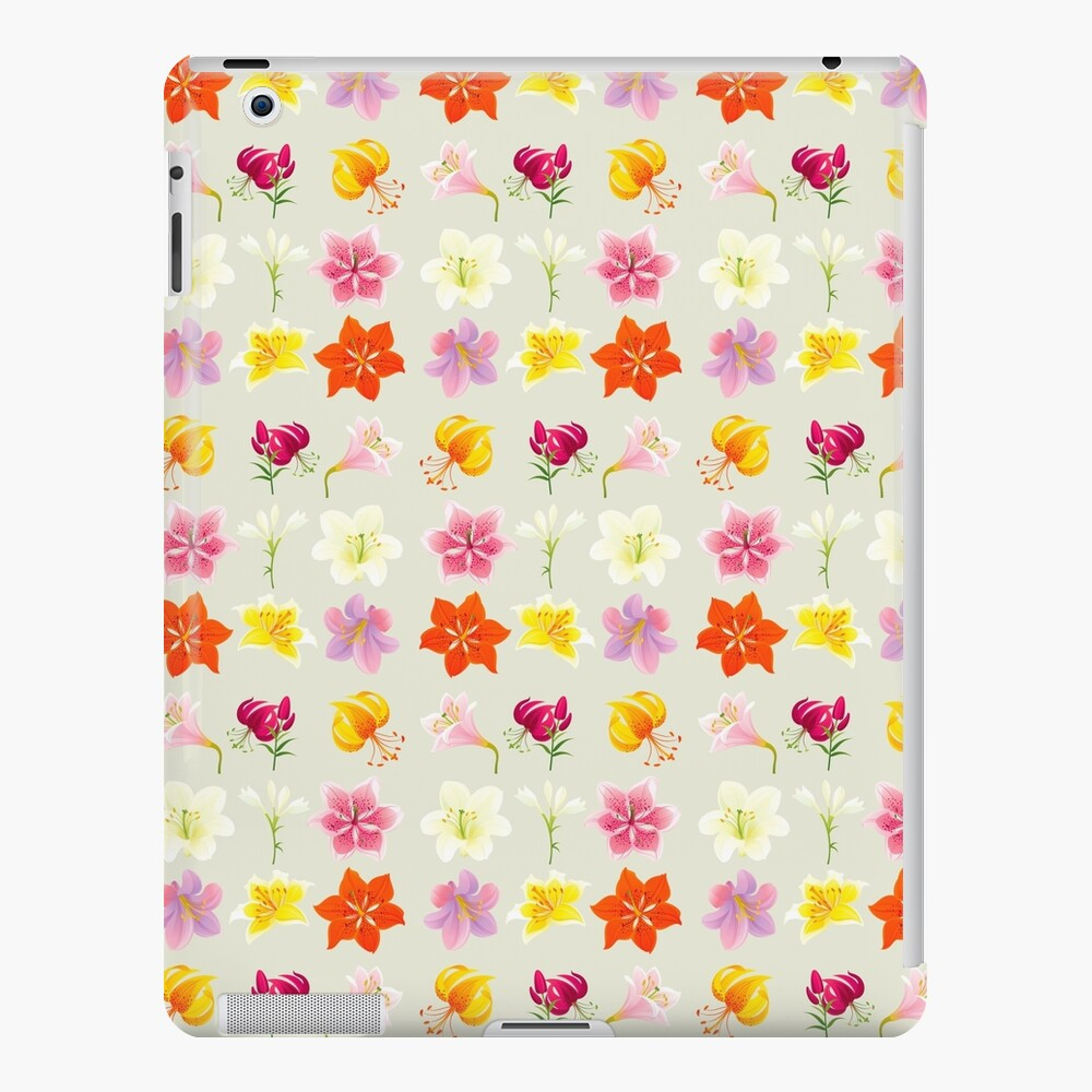Colorful Lilies iPad Case & Skin