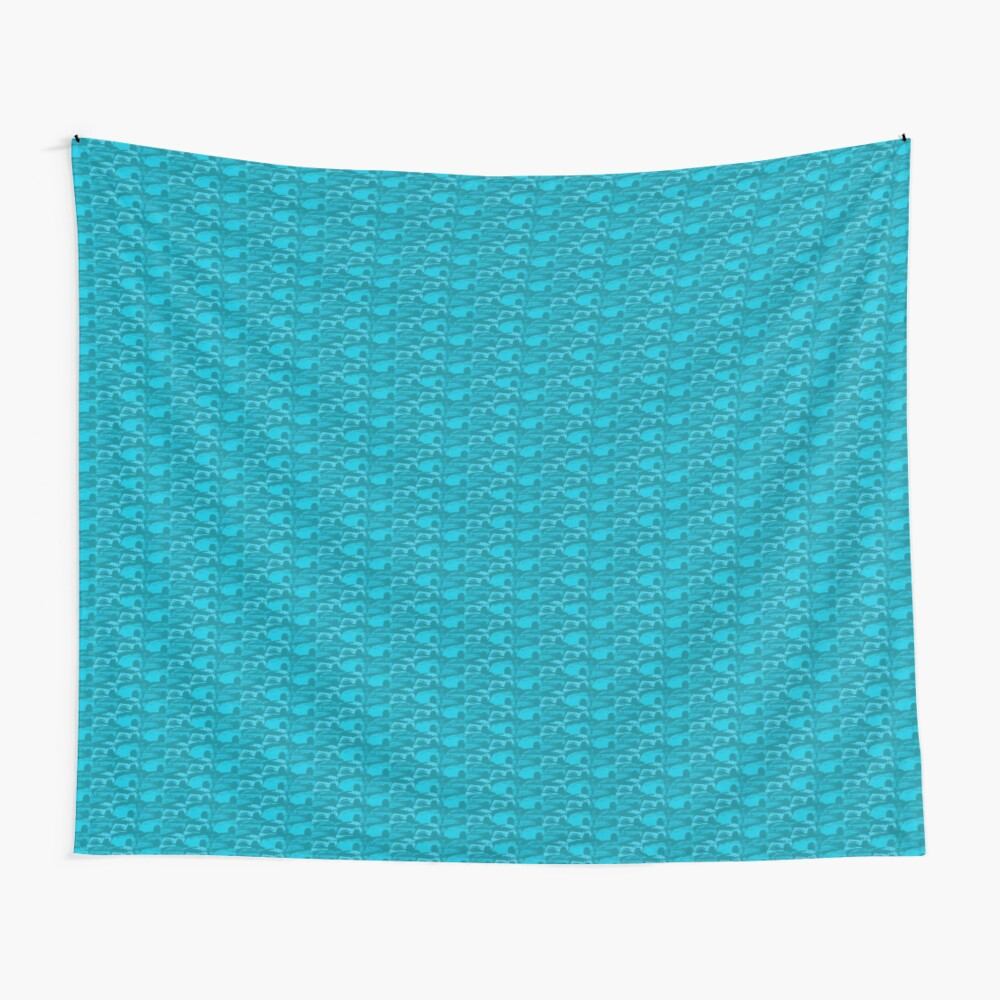 Wave Pattern Wall Tapestry