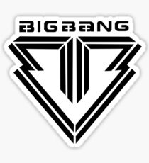 Pegatina Big Bang -Logo