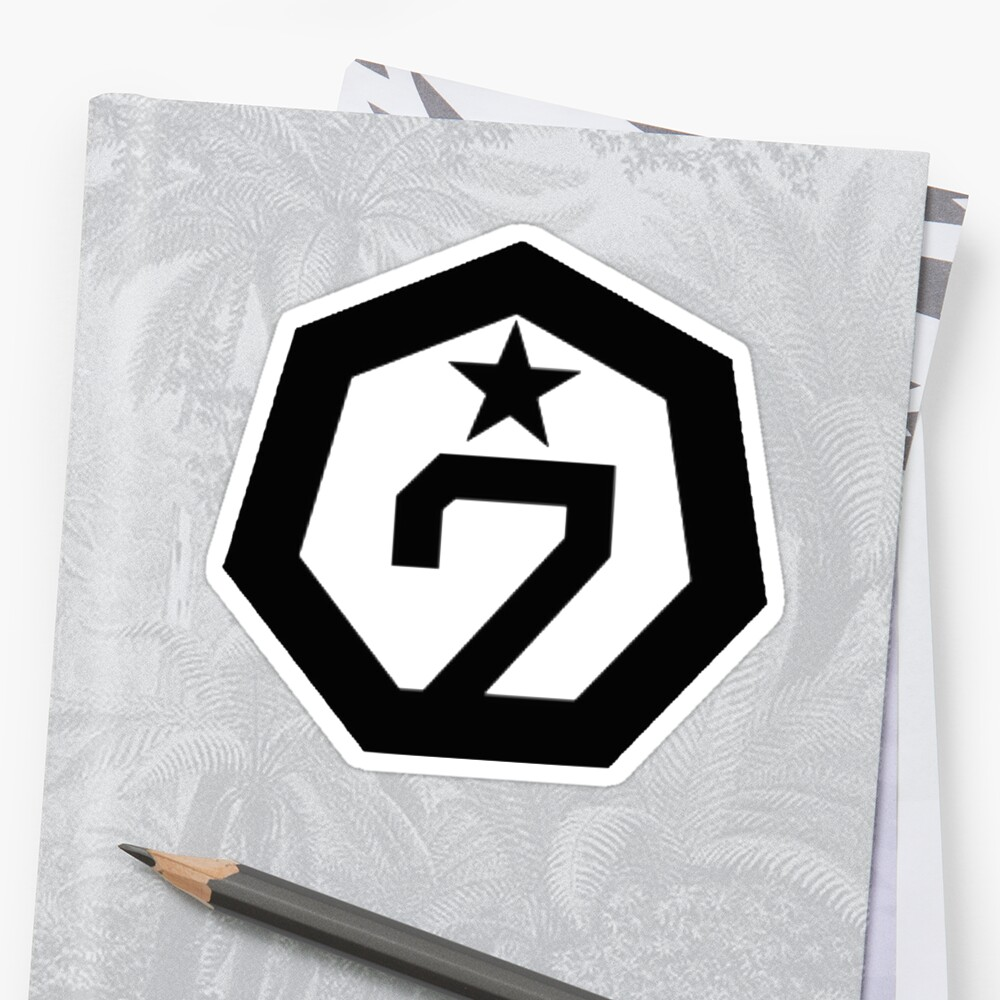 Quot Got7 Logo Quot Stickers By Bballcourt Redbubble