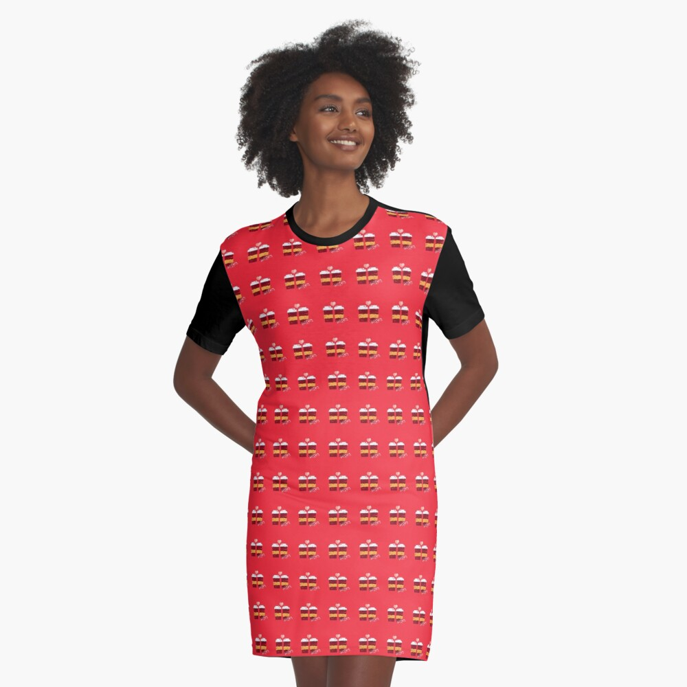 Coffee for Two Graphic T-Shirt Dress