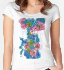 Spring Bloom Fitted Scoop T-Shirt